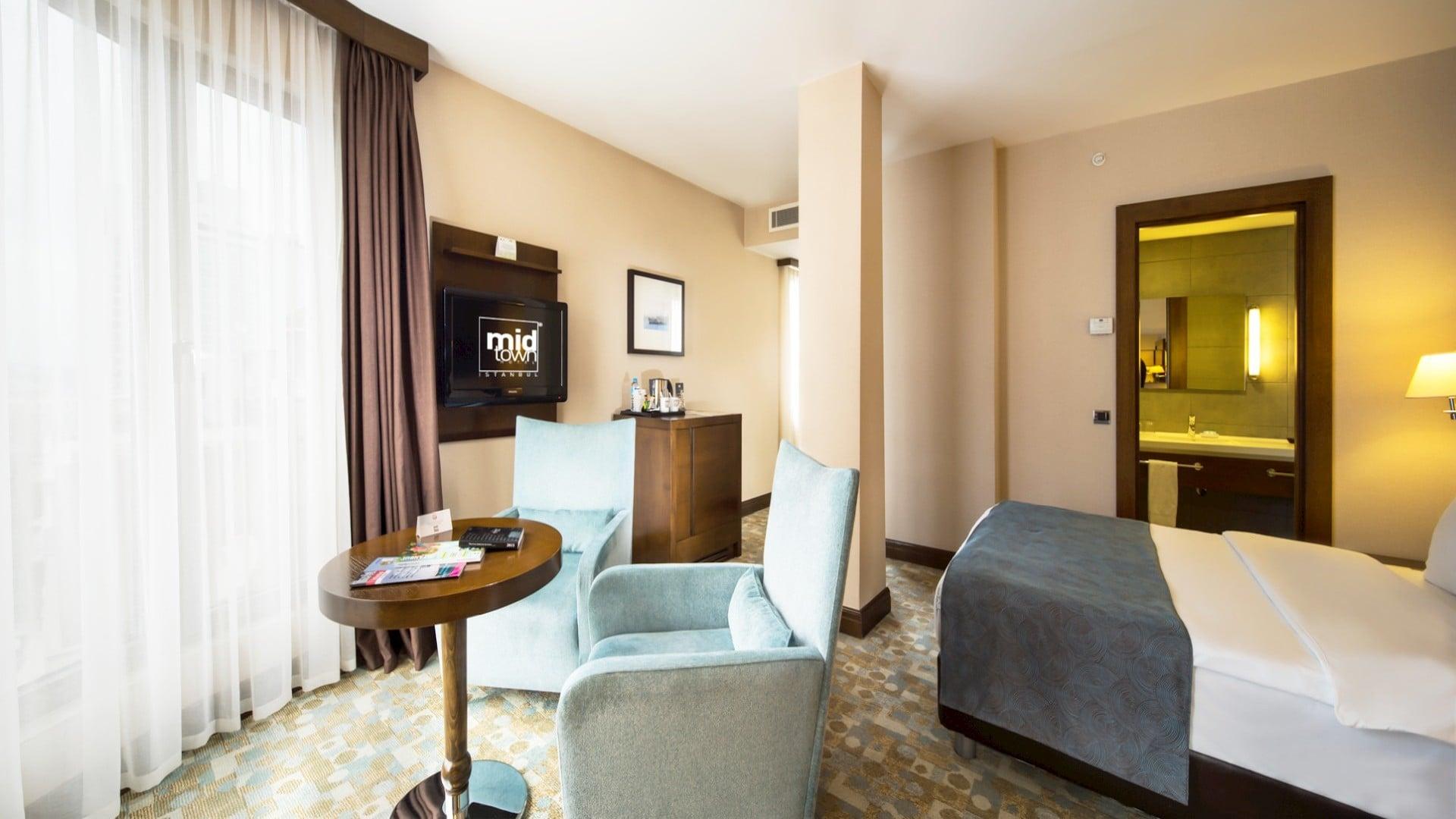 Midtown Hotel Room Interior